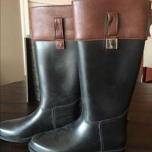 Banana Republic rain boots